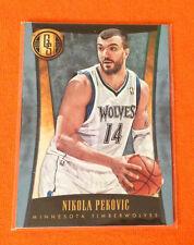 2013/14 Gold Standard NIKOLA PEKOVIC Platinum SSP #01/10 Made = 1/1 Timberwolves