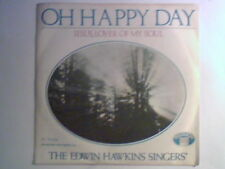 """EDWIN HAWKINS SINGERS Oh happy day 7"""" ITALY UNIQUE PS"""