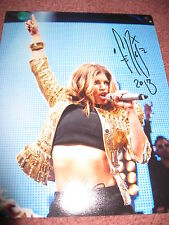 FERGIE SIGNED AUTOGRAPH 8x10 PHOTO BLACK EYED PEAS IN PERSON COA AUTO RARE K