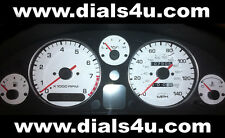MAZDA MX5 Mk1 (1989-1997) 120mph or 140mph (3 Warning Lights) - WHITE DIAL KIT