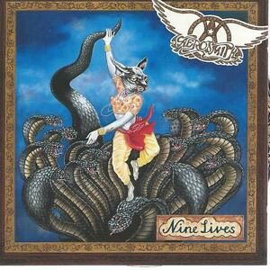CD album AEROSMITH - NINE 9 LIVES - 14 TRACK