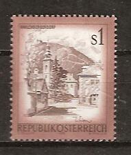 Austria # 973 Mnh Old Town Enns Architecture