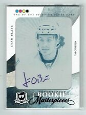 10-11 UD The Cup  Jim O'Brien  1/1 The Cup Printing Plate  Auto  Rookie