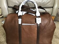 FOSSIL -Brown Leather Evan Duffle / Hold-all Bag - Brand New with tags RRP £369