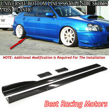 Universal Bottom Line CS Style Side Skirts 212CM (ABS)
