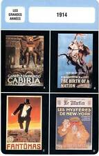 FICHE CINEMA : LES GRANDES ANNEES : 1914 - Fantomas,Cabiria,Birth of a Nation