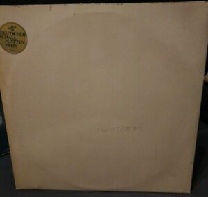 The Beatles, eingestanzte No. 518850, White Album, C19204173/74, Deutscher...