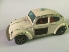 Corgi Juniors Whizz wheels VW1300 Beetle police car used, no box