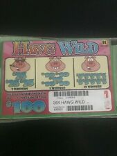 """""""Hawg Wild"""" Pull Tabs 1 Window 364 Tickets Payout $275  Free Shipping USA"""