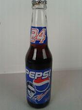 Vintage NASCAR #24 Jeff Gordon 12 oz. filled Pepsi bottle