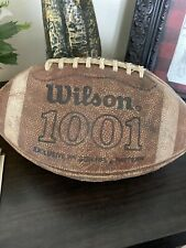 Vintage Wilson Leather Official Football w/Laces 1001 Nfl Pattern Model Nice!