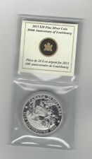 **2013**Canada, 300th Anniv. Louisbourg, Silver $20 Dollar Coin