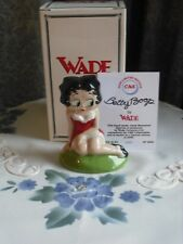 RARE WADE   - BETTY BOOP IN HER RED DRESS  -LTD EDITION - BOXED WITH CERTIFICATE