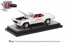 1:24 M2 Machines *CAMARO FIFTY* White 1969 Chevrolet Camaro Z/28 *NIB*