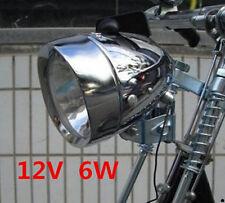 Bicycle Motorized Bike Friction Power Generator Dynamo Headlight Tail Light 12V