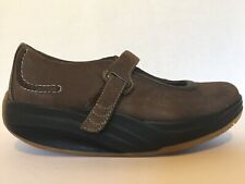 MBT Shoes Size 8 Women's Brown Suede Mary Janes Kaya