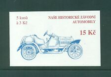 Czechoslovakia 1994 15k Classic Historic Cars  Booklet