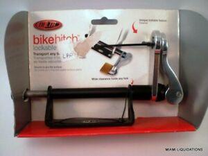 Delta Lockable Bike Hitch Aluminum Baseplate & 9mm Skewer Truck Bicycle Mount