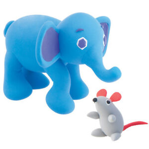 The Very Hungry Caterpillar Super Dough Model Kit Elephant with Mouse