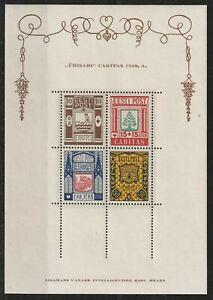 Estonia  Esttland 1938 Mi # block 1 vf MNH