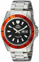 Orient Men's 'Mako XL' Japanese Automatic Stainless Steel Diving Watch, Color...