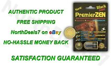 PremierZEN Premier ZEN Black 5000 Male Sexual Performance Enhancement AUTHENTIC