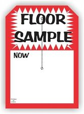 """Floor Sample"", 5"" X 7"", Slit Hang Tag, 250 Per Pack Dsp10Wh"