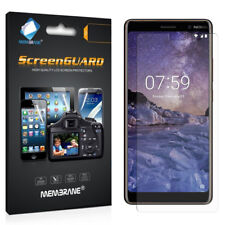 3 Clear Lcd Screen Protector Film Saver For Mobile Phone Nokia 7 Plus