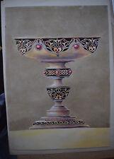 Russian Painting original   Handmade watercolor paper