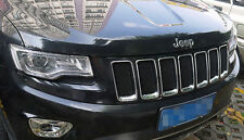 3D Mesh Front Prevent Bug Grille Grill Insert For 2011-2013 Jeep Grand Cherokee