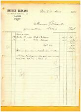 """PARIS (XI°) MATERIEL grillagé / PIEGES à MOUCHES """"Maurice LEHMANN"""" en 1905"""