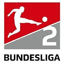 Original 2.Bundesliga Ärmellogo Patch Badge Logo alle Teams 2017-2018