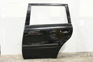 07-12 Mercedes X164 GL450 GL550 Rear Left Driver Side Door Shell BLACK OEM