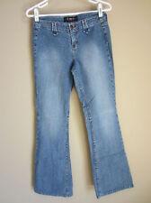 9d44cea3475 LEI Split Stretch Flare Jeans 7 Rare Retro Vintage