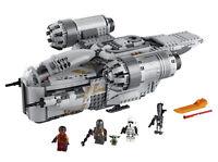 Lego Star Wars The Mandalorian Razor Crest (75292) 1,023 Piece Child Yoda NEW