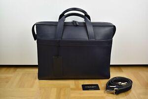 Porsche Design French Classic 4.1 BriefBag MHZ Umhänge Tasche Briefcase Leder