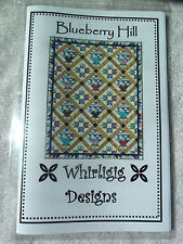 BLUEBERRY HILL QUILT PATTERN BY WHIRLIGIG DESIGNS - BEAUTIFUL BASKETS