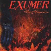 EXUMER - FIRE & DAMNATION (2012) Thrash Metal CD Jewel Case by Fono Music+GIFT