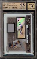 2008 Bowman Sterling Jesus Montero Rookie RC Jersey BGS 9.5 Autograph 10 Auto 05