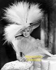 MAE WEST 8x10 Lab Photo 1934 SEXY Fan Feather Glamour Elegance Portrait Lovely