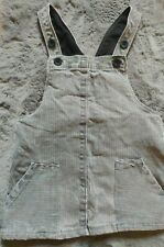 Zara Baby Girl Dungaree Striped Dress Ages 12 -18 Months