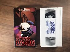 Neon Genesis Evangelion VHS Tape Genesis 0:13 A WORLD ENDING - English Dubbed WH