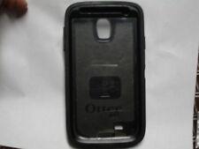 Samsung Galaxy S4 Black Rugged Otterbox Defender Case W/ No Holster 3 pieces