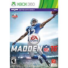 Madden NFL 16 (Microsoft Xbox 360, 2015) - BRAND NEW - FREE SHIPPING ™