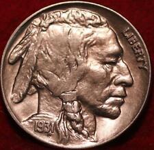 Uncirculated 1931-S San Francisco Mint Buffalo Nickel