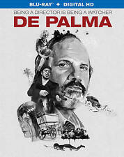 De Palma (Blu-ray Disc ONLY, NO Digital Copy, 2016) LIKE NEW!