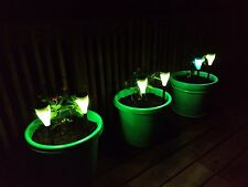 SUNERGY hanging outdoor RGBW 7 color changing solar garden fairy light x6
