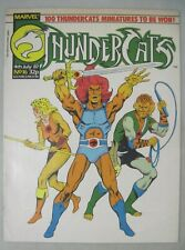 THUNDERCATS #16 4th July 1987 MARVEL UK COMICS ILLUSTRATED MAGAZINE SIZE