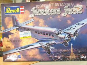 REVELL 1:48 05718 Junkers Ju52 / 3m British European Airways OVP WJ7544