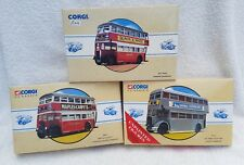 Corgi buses x 3 different models in very good condition. 97315/97203/97857